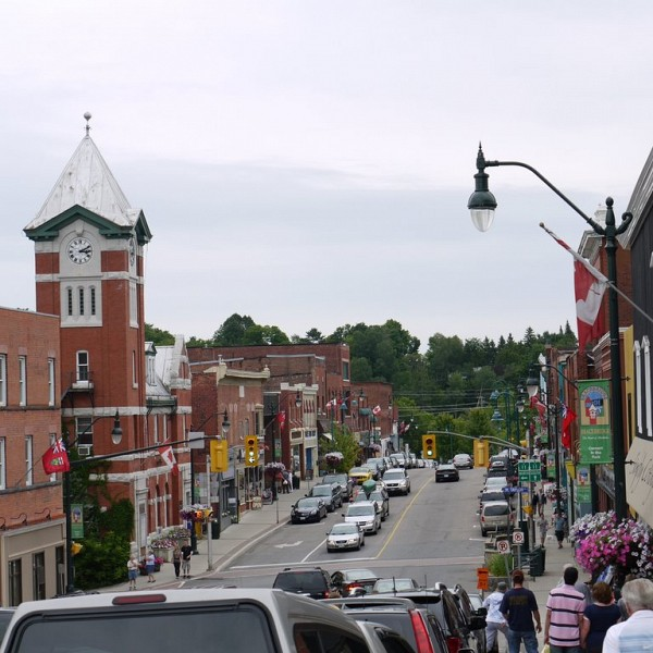 Hallmark Filming In Downtown Bracebridge This Week