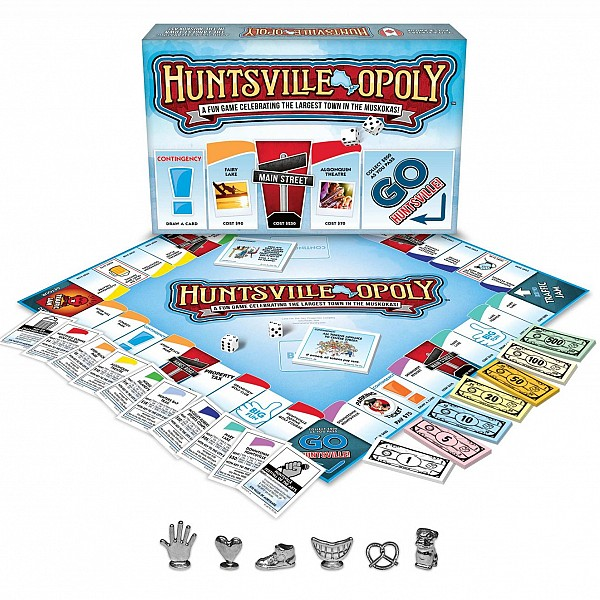 Huntsville-Opoly Game Hits The Shelves In Time For Summer