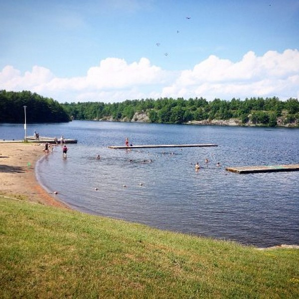 Swim Advisory In Effect at Gull Lake Beach