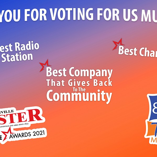 Hunters Bay Radio Wins Best Radio Station - 2 Years In A Row!