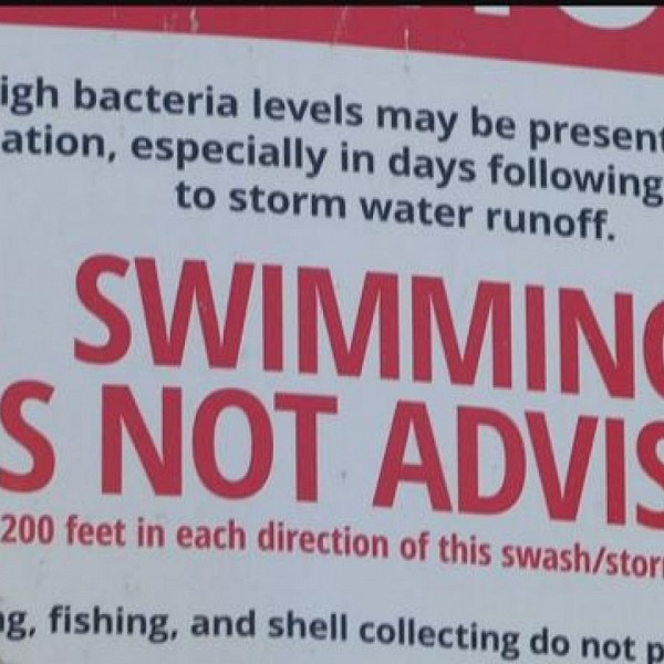 Swim Advisory For Hanna Park Beach