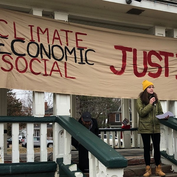Climate Action Muskoka Holds Weekly Climate Strikes